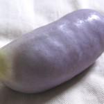 アケビの採種*果皮の味噌田楽