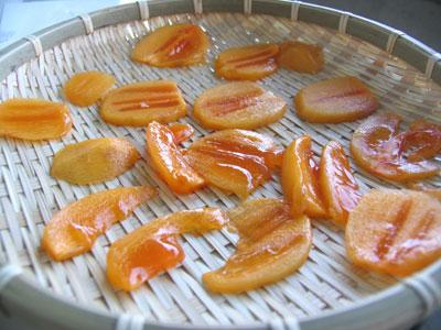 スライス干し柿