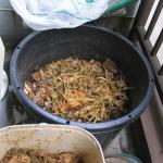 米ぬかで生ゴミ堆肥を作る